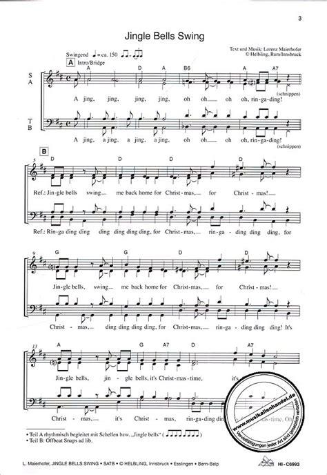 jingle bells swing jingle bells swing maierhofer lorenz helbl c6993