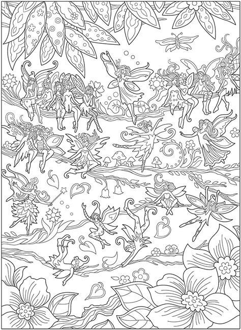 Creative Haven Magical Fairies Coloring Book: Amazon.ca