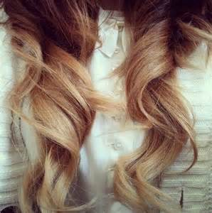 Classic ombre hair extensions
