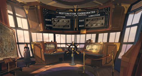 Airship Interior by Ben Lo S Creation Bioshock Infinite Airships