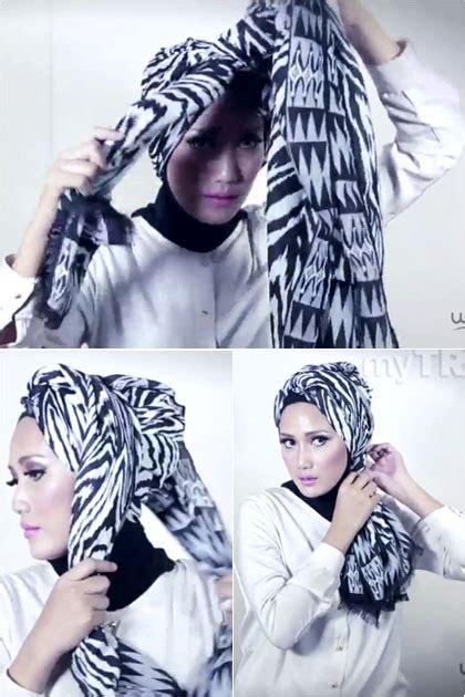 tutorial hijab turban sehari hari tutorial hijab tilan turban sederhana untuk sehari hari
