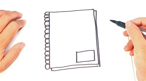 Drawing Notebook by How To Draw A Notebook Step By Step Notebook Drawing