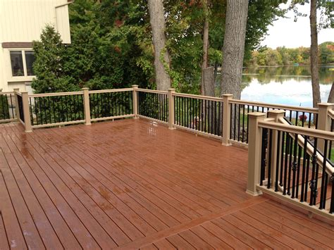 Composite Patio by Autumnwood Construction Oakland County Michigan Deck