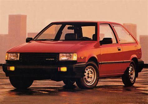 hatchback cars 1980s hatch heaven 187 hyundai excel 1989