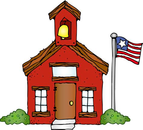 Free House Designs pictures of school house clipart best