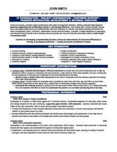 Project Coordinator Resume Exles by Project Coordinator Resume Template Premium Resume Sles Exle