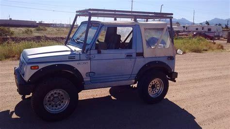 1987 Suzuki Samurai Hardtop 1987 Suzuki Samurai Soft Top For Sale In Kingman Arizona