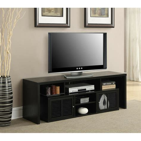 tv stand entertainment center media wood flat screen