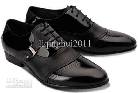 style black cowhide dress shoes s casual shoes