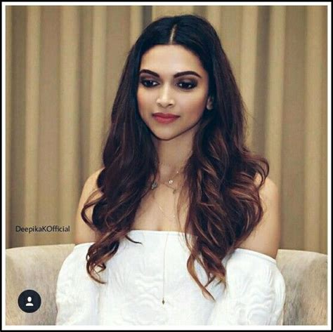 indian hair color 25 best ideas about deepika padukone hair on
