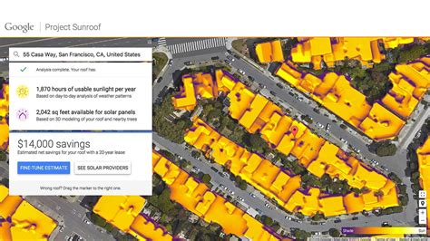 google announces project sunroof to help power the world project sunroof is google maps for solar power digital