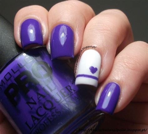 Idden Mit Herz 3679 by Nail Design Would Do Different Colors Nails