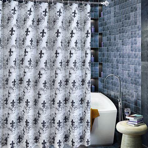 White Unique unique black and white classical cool shower curtains