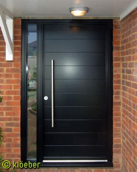 modern front doors black front door google search home decor pinterest