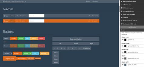 html layout generator bootstrap customizing bootstrap layouts trends tools frameworks