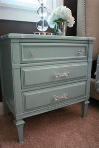 stuck on hue bedroom update turquoise nightstand before