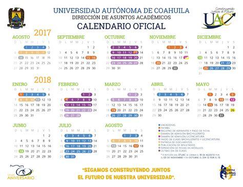 Calendario 2018 Oficial Calendario Escolar 2017 2018