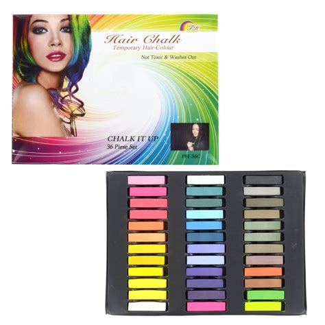 Non Toxic Premium Quality Temporary 5 non toxic temporary hair chalk dye salon quality diy kit wash out colour pastels ebay