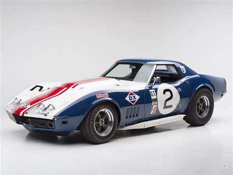 corvette race car 1968 chevrolet corvette convertible l88 race car 180584