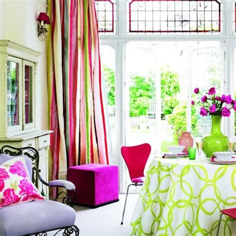 Colorful Drapes Curtains 15 Lively And Colorful Curtain Ideas For The Living Room