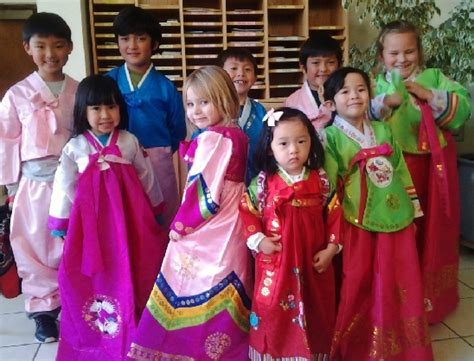 philippines traditional clothing for kids grandsons handsome or pretty in pink for the korean new