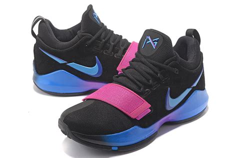 nike basketball shoes blue and pink style guru fashion