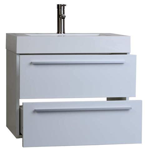 26 Bathroom Vanity Buy 26 75 In Single Bathroom Vanity Set In High Gloss White Tn T690 Hgw On Conceptbaths