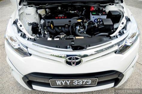 Toyota Vios Engine Spec Driven 2013 Toyota Vios 1 5 G Review