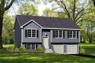 Raised Ranch House Plan   Home Designing Service, Ltd. Windsor, CT