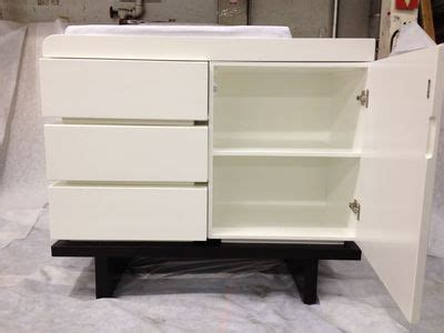 Nurseryworks Changing Table Gently Used Nursery Works Two Wide Changer Dressers Changing Tables Available In 91106 Within