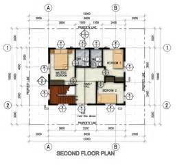 Single Detached House Floor Plan by Northfield Residences A Modern New House And Lot In