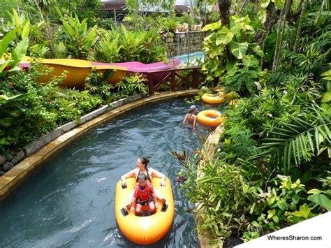 making  splash  waterbom bali   water park