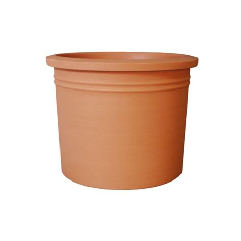 curbside cylinder planter newpro containers