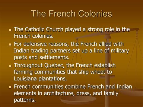 settlement pattern in french ppt 5 the cultures of colonial north america 1700 1780