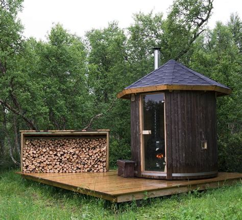 saunas backyards and norway on pinterest