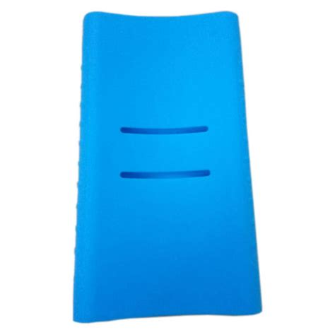 Silicone Cover For Xiaomi Pow 10000mah 2nd Generation Oem Biru silicone cover for xiaomi power bank 10000mah 2nd generation oem blue jakartanotebook