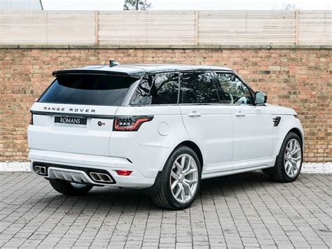 land rover svr white 2018 used land rover range rover sport v8 svr yulong white