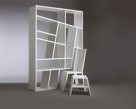 Bookcases Room Divider Abstract Bookshelf White Color White Bookcase Room Divider