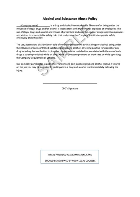 and abuse policy template 64 policy templates free to in pdf