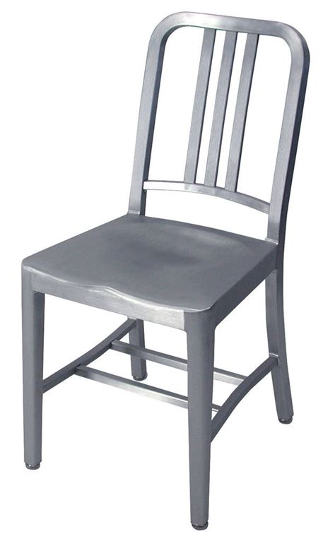 Navy Chair by Navy Chair Chair Aluminium Brushed Aluminium By Emeco