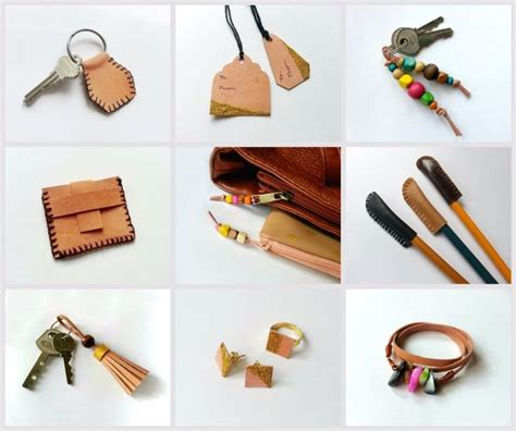 leather craft projects diy scrap leather projects 9 steps with pictures
