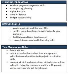Resume Sample Soft Skills by Sample Wording Suggestions For Soft Skills Students
