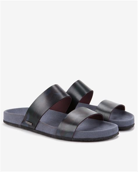 bakers sandals ted baker leather sandals in green for assorted lyst