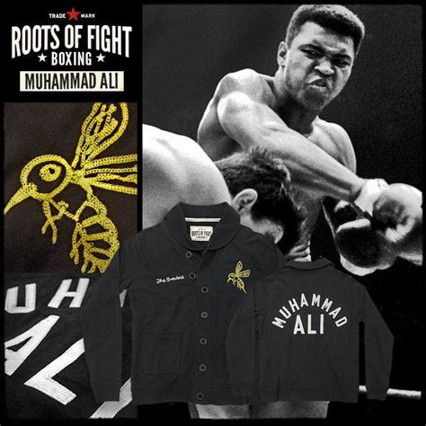Muhammad Ali Back To His Roots by Roots Of Fight Boxing Cardigans