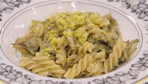 cucina benedetta parodi ricette benedetta parodi pasta mimosa con carciofi da la