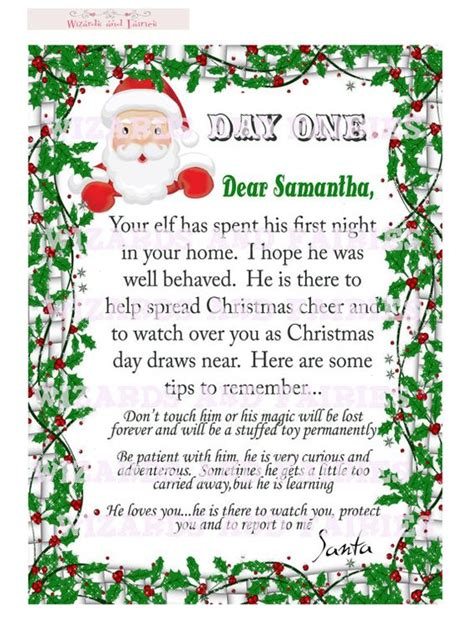 On The Shelf Note From Santa by Shelves Keep In Mind And The O Jays On