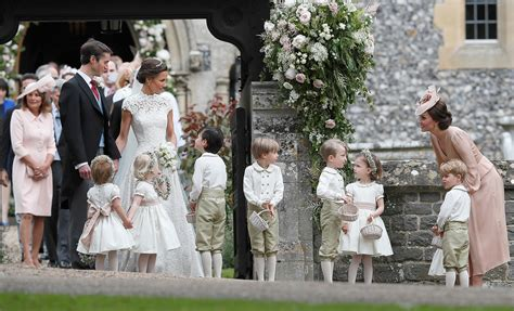 pippa wedding prince george and princess charlotte in pippa middleton s