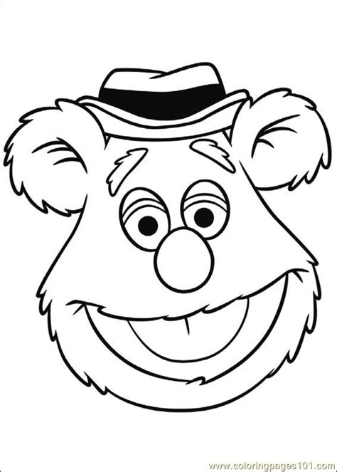 Coloring Pages Muppets 04 Cartoons Gt Muppet Babies Muppets Coloring Pages