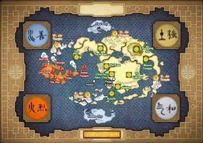 Avatar World Map by Avatar The Last Airbender Map Avatar Pinterest