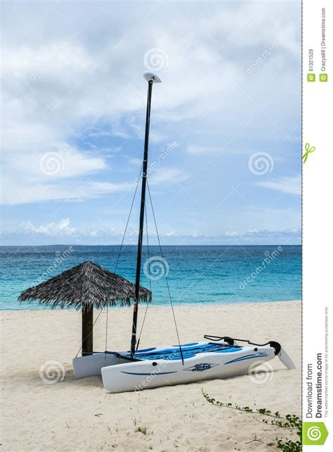 sailboat umbrella hobie cat and beach umbrella anguilla british west